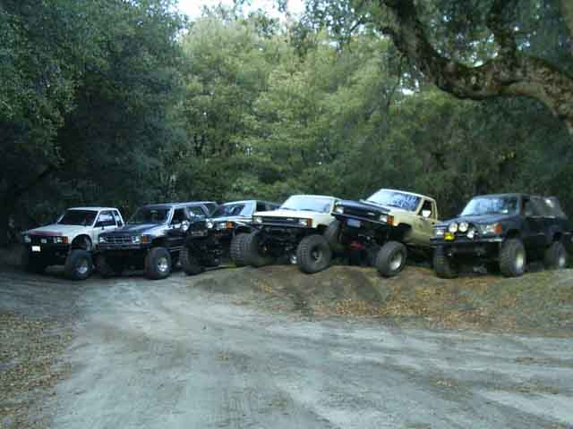 Toyota Pickups and 4runners